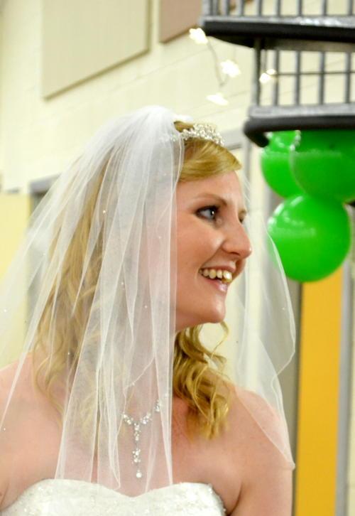 Ellen celebrates her wedding with Colin in Christ Church