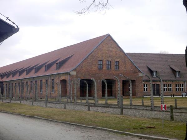Barracks at Auschwitz I
