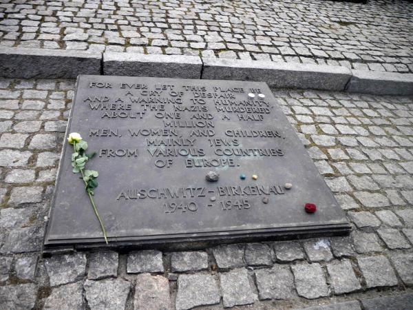 Memorial at Auschwitz II