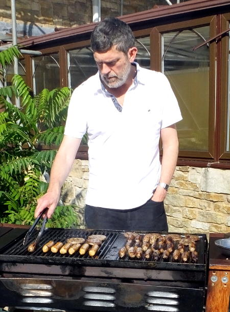 Barbecue chef Martin