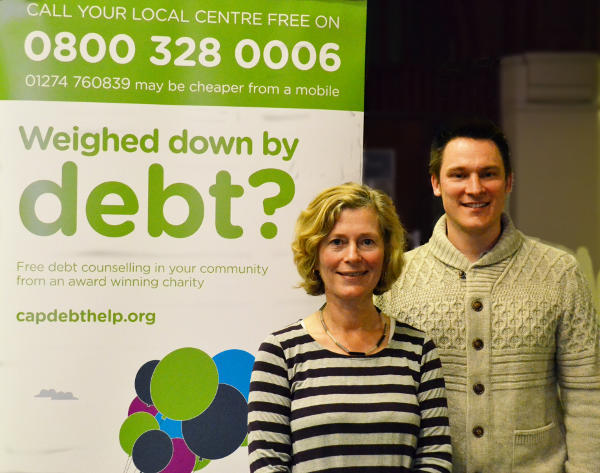 Centre Manager Judy Ward at the CAP Debt Advice Centre launch event