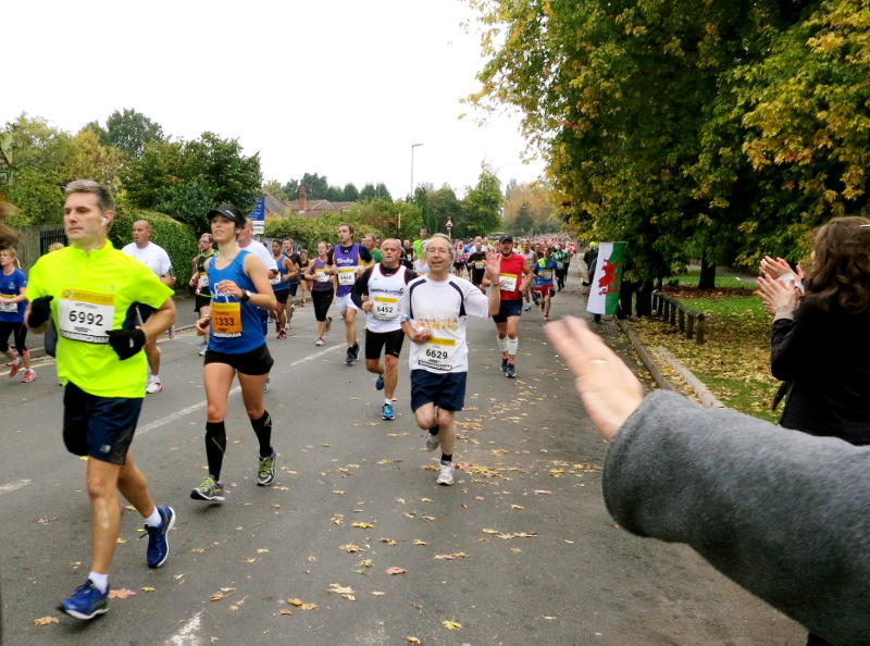 Phil in the 2015 Great Birmingham Run