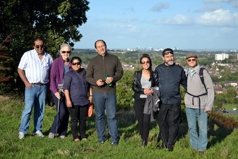 The Bolivia team at Waseley Hills Country Park