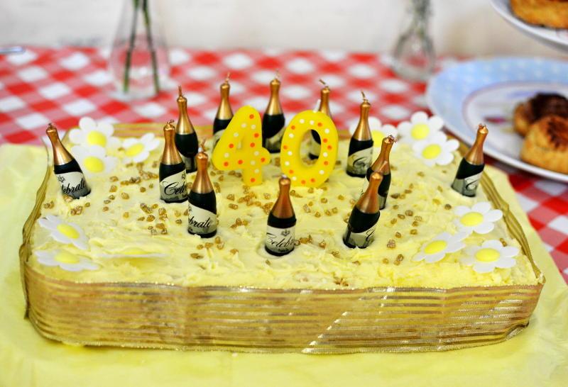 Coffee Mates Anniversary cake