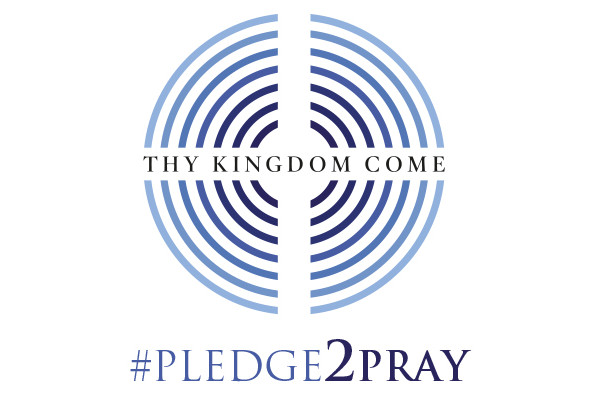 Thy Kingdom Come Pledge to Pray logo
