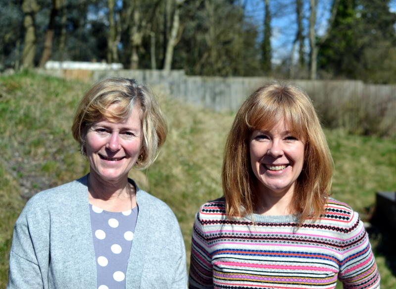 Judy and Nicky work together to lead the CAP Debt Advice Centre