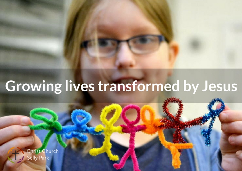 Growing lives transformed by Jesus