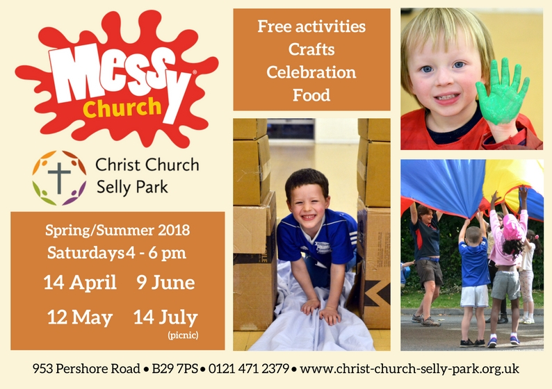 Messy Church 14 July: Picnic at the Lickeys
