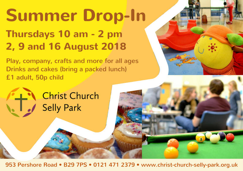 Summer Drop-In on 3 Thursdays in August