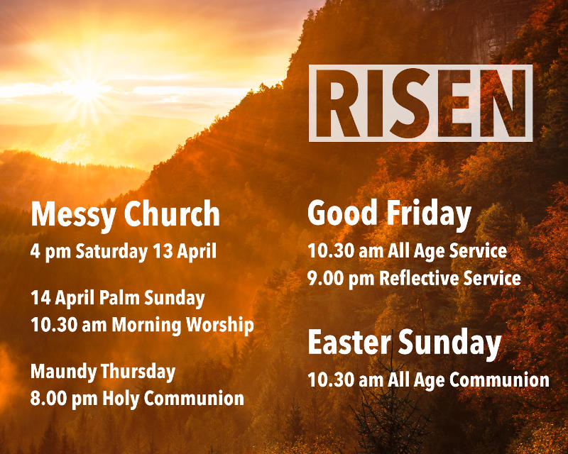 Holy Week and Easter at Christ Church