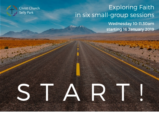 Image to promote the Start course