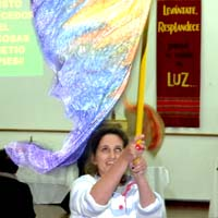 Flying the flag: Worship in Santa Cruz, Bolivia