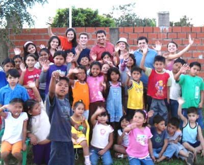 Beccy and Dan visited a project in Santa Cruz in 2011