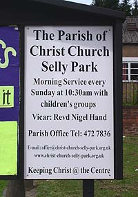 New church, new noticeboard