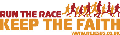 Run the Race, Keep the Faith logo