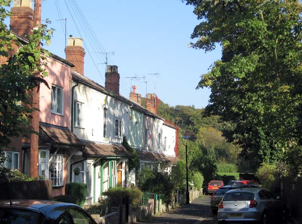 A residential road in Selly Park